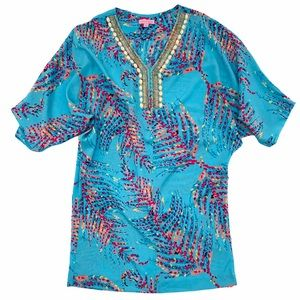 Lilly Pulitzer Beaded Cafton Swim Cover Up | XS